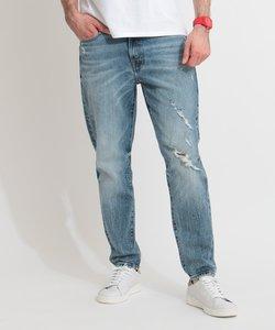 DRAKE Low-Rise Regular Fit Tapered Denim Pant