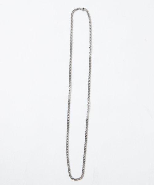 ステンレスチェーンネックレス70cm