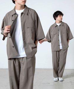 アーバンカラーフラップポケットシャツ(S)