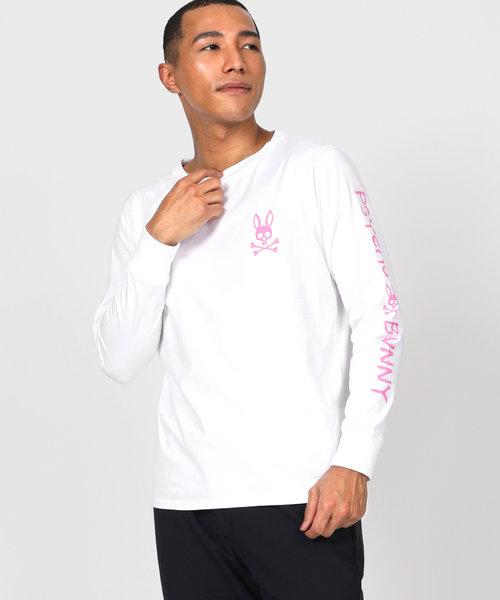 ハンドライトロゴ  ロングTシャツ