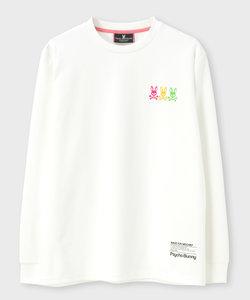 〔SPORTS LINE〕3バニー  クルーネックロングTシャツ