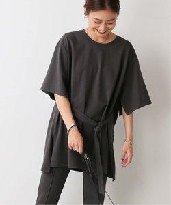 【Miho Tanaka × relume】ベルテッドスリットTシャツ◆