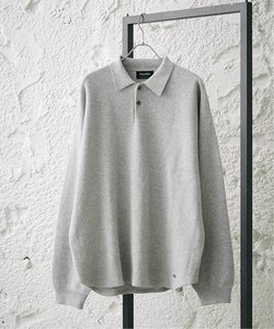 【PALMER for relume】SLOUCHY コットンニット ポロ