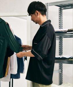 【DAN RIVER/ダンリバー】サテンパジャマシャツ