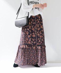 SPRINTEX フラワーペイズリースカート