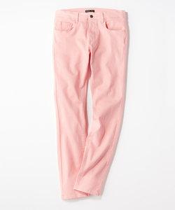 プラスワン 【WEB限定】24色スキニーパンツ 【店舗裾上げ不可】