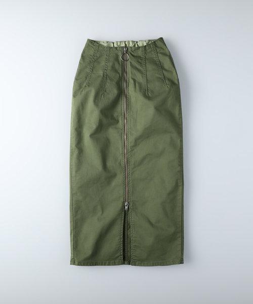 サムシング 【ライトオン限定】フルジップスカート