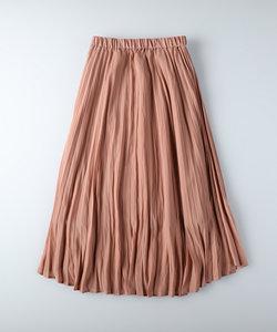 ハニーサックルローズ サテンプリーツスカート