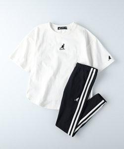 カンゴール 【ライトオン限定】セットアップ(Tシャツ&レギンスパンツ)