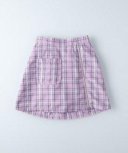 ヴィヴィアンブルー ジップスカート