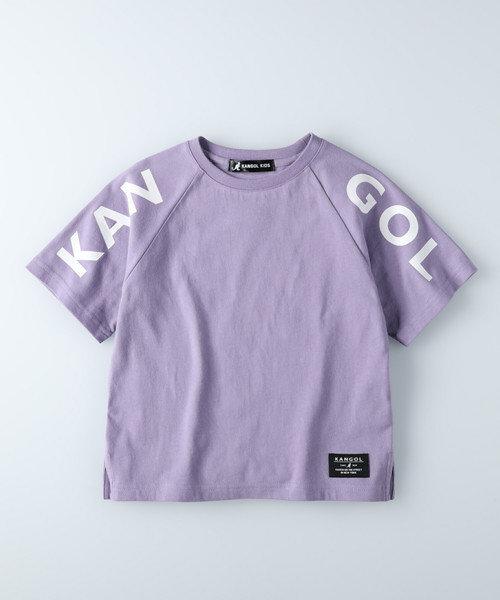 カンゴール 【ライトオン限定】ビッグシルエットラグランロゴTシャツ