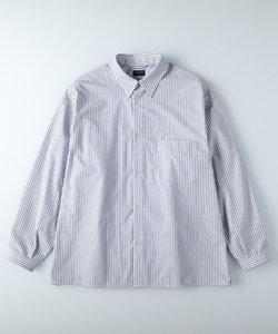 バックナンバー ビッグシルエットストライプシャツ