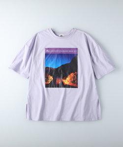 キャンプ7 フォトプリントTシャツ