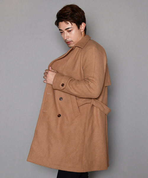 LV WOOL TRENCH COAT