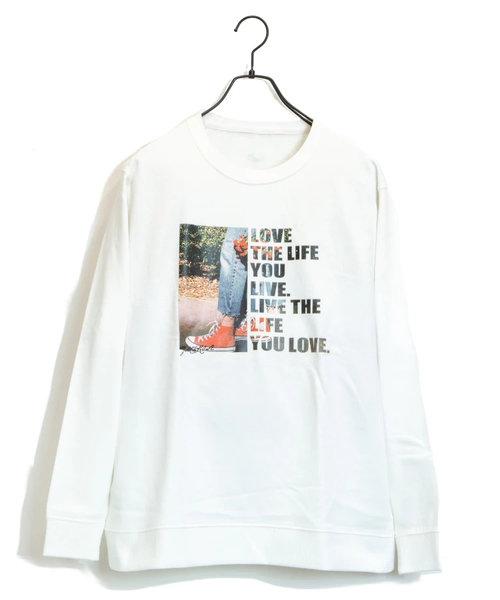 JE-LOVE.THE.LIFE-フォトクルースウェット