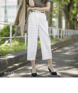 格子太身パンツ