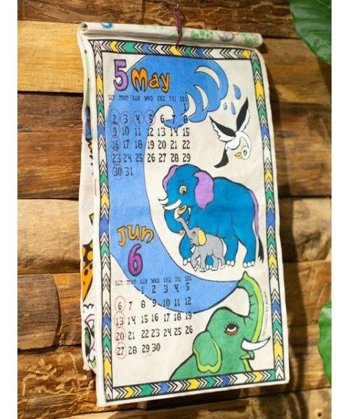 【チャイハネ】2021年カレンダー TINGATINGA