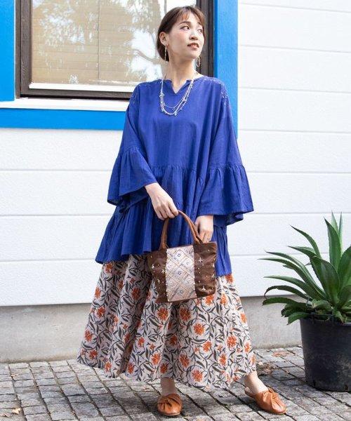 【チャイハネ】カマル刺繍バッグ