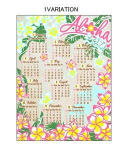【Kahiko】2021年ジュートカレンダー FLOWER