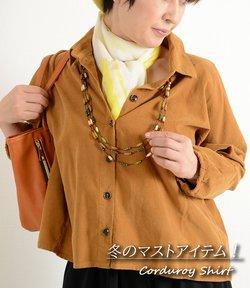 カラーで遊ぶ! 起毛素材 OTONA見え ショート丈 ブラウス ゆったりサイズ 40代 50代 60代