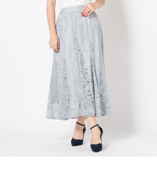 レースロングマーメイドスカート
