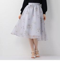 エアリー花柄スカート