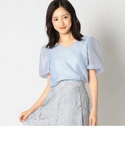 【美人百花5月号掲載】ボリューム袖ブラウス