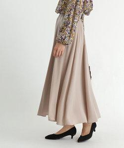 FENNEL(フェンネル) ウエストリブドレープスカート