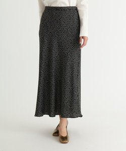 Bouchon(ブション) マーメイドラインドットスカート