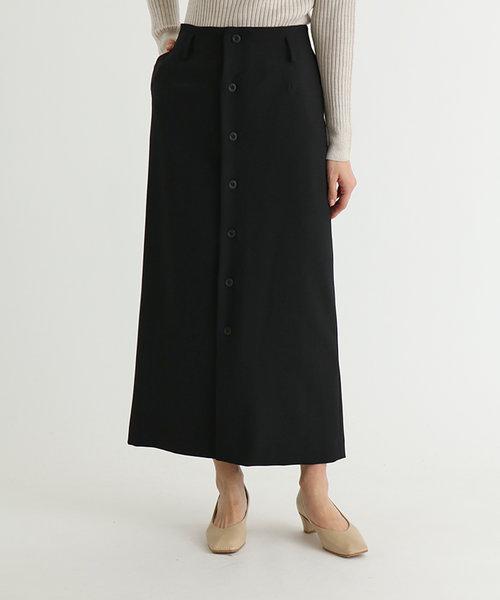 FENNEL(フェンネル) フロントボタンセミタイトスカート
