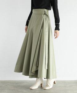 RADIATE ヴィーガンレザー ラップスカート