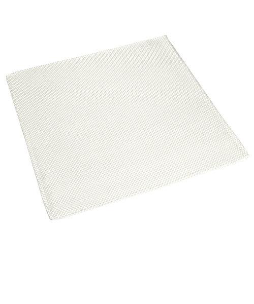 ポケットチーフ / ビジネス / フォーマル / 絹100% 白系 バスケット織柄