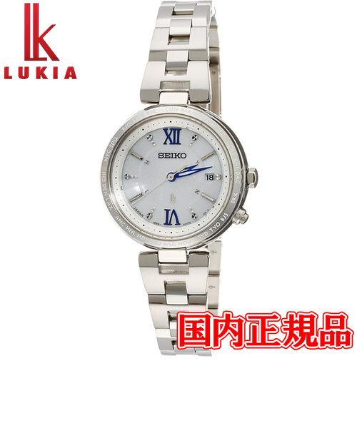 国内正規品 SEIKO セイコー LUKIA ルキア ソーラー電波修正 レディース腕時計 SSQV013