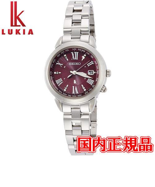 国内正規品 SEIKO セイコー LUKIA ルキア ソーラー電波 レディース腕時計 SSQV019