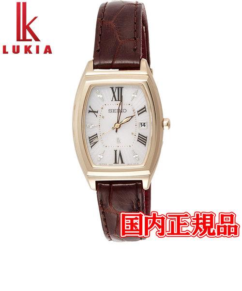 国内正規品 SEIKO セイコー LUKIA ルキア ソーラー電波修正 レディース腕時計 SSQW034