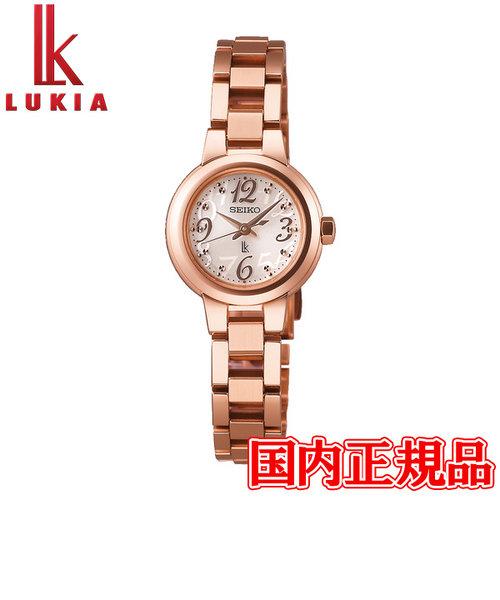 国内正規品 SEIKO セイコー LUKIA ルキア ソーラー電波 レディース腕時計 SSVR128