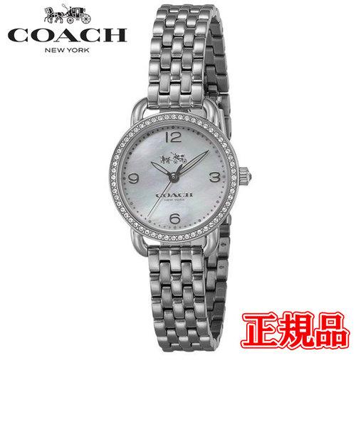 特価品 40%OFF 正規品 COACH コーチ DELANCEY デランシー クォーツ レディース腕時計 14502477