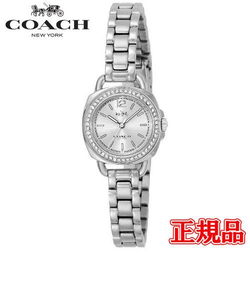 特価品 40%OFF 正規品 COACH コーチ TATUM テイタム クォーツ レディース腕時計 14502573