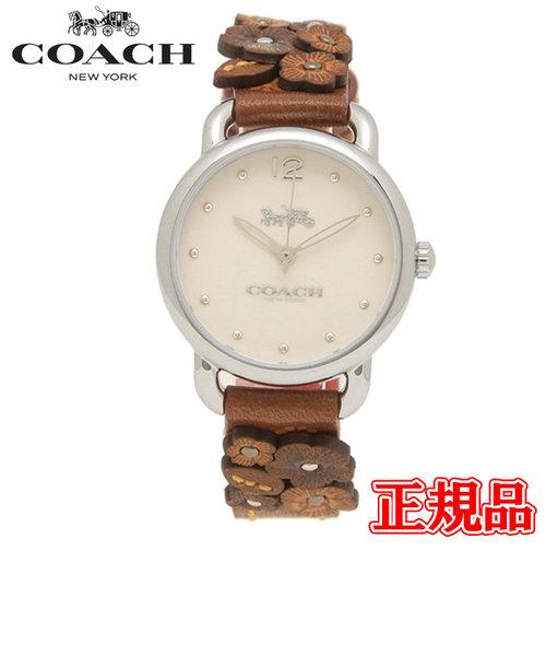 特価品 40%OFF 正規品 COACH コーチ DELANCEY デランシー クォーツ レディース腕時計 14502761