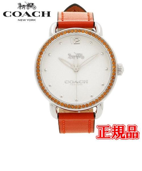 特価品 40%OFF 正規品 COACH コーチ DELANCEY デランシー クォーツ レディース腕時計 14502880