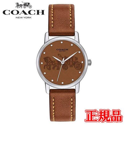 特価品 40%OFF 正規品 COACH コーチ GRAND グランド クォーツ レディース腕時計 14502978