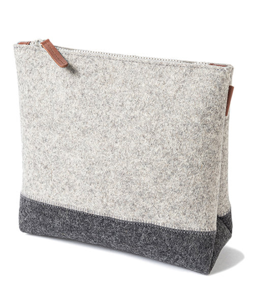 TWO TONE POUCH M