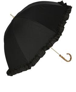 100% 完全遮光 日傘 ピンクトリック 長傘 晴雨兼用 親骨50cm