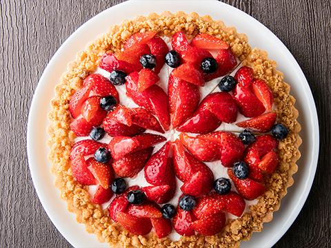 Torta de fruto sazonal