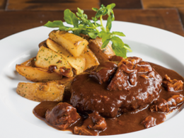 Stew hamburg 100% specially made recommended menu beef