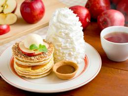 おすすめメニュー アップルパイ・パンケーキ