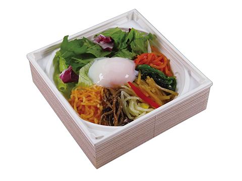 ongyoku bibimbap of vegetables