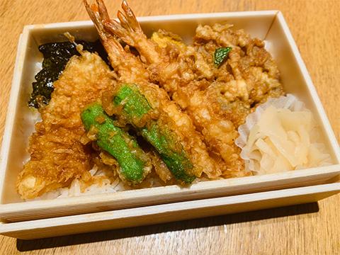 天丼弁当 竹