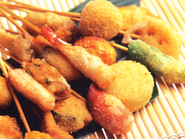 Recommended menu deep-fried skewers all-you-can-eat