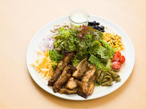 mekishikankobusaradaguringoddesudoresshingu of roast chicken